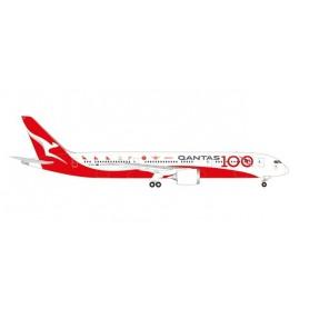 Herpa Wings 570756 Flygplan Qantas Boeing 787-9 Dreamliner - 100th Anniversary 'Longreach'