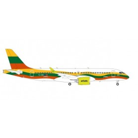 Herpa Wings 570770 Flygplan airBaltic Airbus A220-300 'Lithuania'
