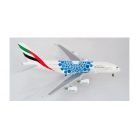 Herpa Wings 570800 Flygplan Emirates - Expo 2020 Dubai 'Mobility'-livery Airbus A380