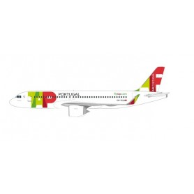 Herpa Wings 612593 Flygplan TAP Air Portugal Airbus A320neo 'Padre Américo'