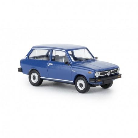 Brekina 27629 Volvo 66 Kombi, blå