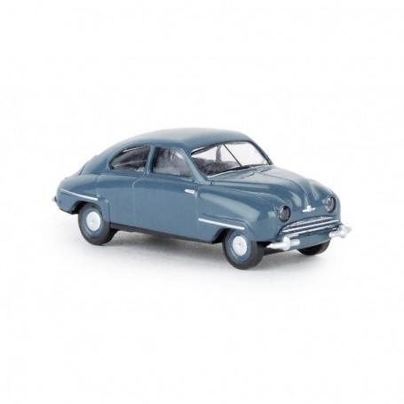 Brekina 28601 Saab 92, blå, TD