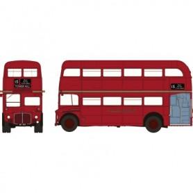 Brekina 61100 Buss Routemaster Dubbeldäckare London, röd (City)