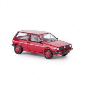 Brekina 870000 VW Polo II Steilheck 'FOX', röd , PCX