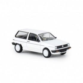 Brekina 870001 VW Polo II Steilheck 'FOX', vit , PCX