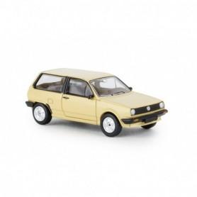 Brekina 870002 VW Polo II Steilheck, beige , PCX