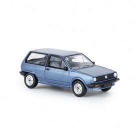 Brekina 870003 VW Polo II Steilheck, blåmetallic , PCX
