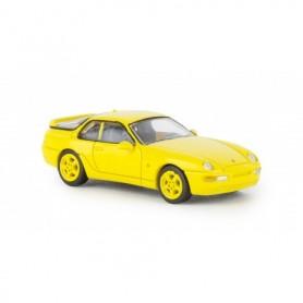 Brekina 870012 Porsche 968, gul , PCX