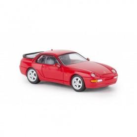 Brekina 870013 Porsche 968, röd , PCX