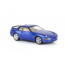 Brekina 870015 Porsche 968, mörkblå metallic , PCX