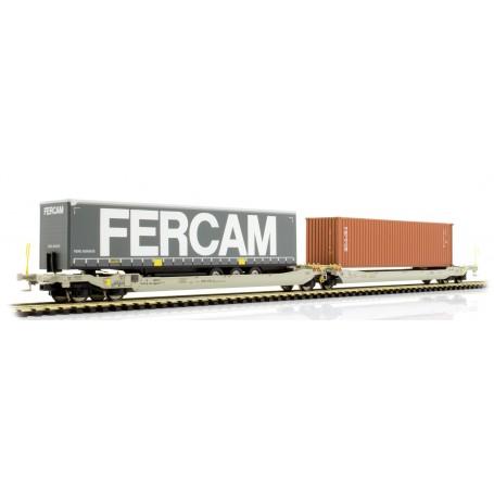 Rocky Rail 90372DC Trailervagn typ Sdggmrs AAE Cargo 'TX Logistik AG (TXL)'