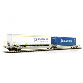 Rocky Rail 90373DC Trailervagn typ Sdggmrs AAE Cargo 'TX Logistik AG (TXL)'