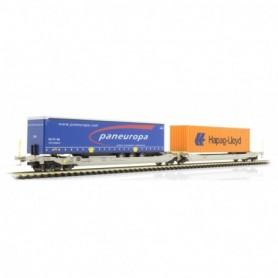 Rocky Rail 90374DC Trailervagn typ Sdggmrs AAE Cargo 'TX Logistik AG (TXL)'