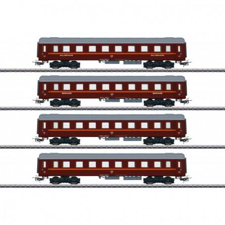 Märklin 41921 Tin-Plate Passenger Car Set