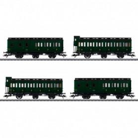Märklin 42042 Vagnsset med 4 personvagnar typ SNCF
