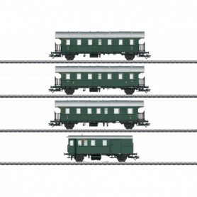 Märklin 43146 Passenger Car Set with a Cab Control Car