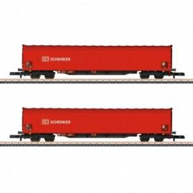 Märklin 82426 Vagnsset med 2 godsvagnar Rils 652 typ DB AG 'DB Schenker'