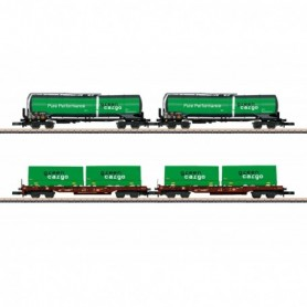 Märklin 82533 Green Cargo Freight Car Set
