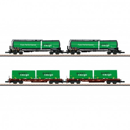 Märklin 82533 Green Cargo Freight Car Set