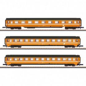 Märklin 87343 Vagnsset med 3 personvagnar typ ÖBB 'Eurofirma'