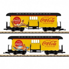 LGB 36847 Coca Cola® Baggage Car