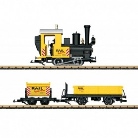 LGB 70503 Construction Site Train Starter Set. 230 Volts