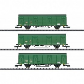 Trix 15312 Vagnsset med 3 godsvagnar typ DR 'Deutsche Post'