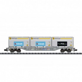 Trix 18405 Type Sgnss Container Flat Car