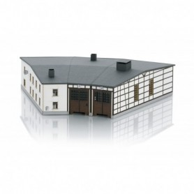 Trix 66340 Rottweil Roundhouse Locomotive Shed Building Kit