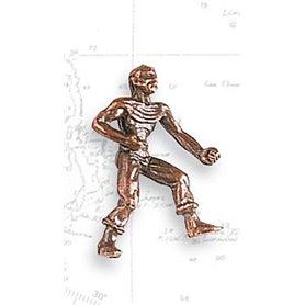 Artesania 8742 Figurer, sjömän, omålade, metall, höjd 27 mm, 2 st
