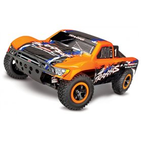 Traxxas 68086-4-ORNG Slash 4x4 VXL RTR TQi TSM Orange - Utan Batteri & Laddare