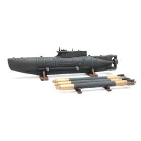 """Artitec 38712 Ubåt Midget Sub (full hull) """"Seehund"""""""