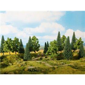 Noch 24622 Mixad skog, 6 st 14-18 cm höga