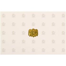 Amati 5352.03 Dekoration, metall, mått 12 x 10 mm, 10 st