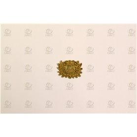 Amati 5352.05 Dekoration, metall, mått 13 x 10 mm, 10 st