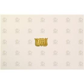 Amati 5352.06 Dekoration, metall, mått 15 x 10 mm, 10 st