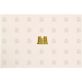 Amati 5352.08 Dekoration, metall, mått 13 x 10 mm, 10 st
