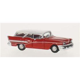 BOS 87120 Buick Century Caballero, röd/vit, modell i resin