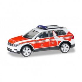 Herpa 095273 VW Tiguan emergency vehicle 'Feuerwehr Wolfsburg'