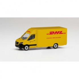Herpa 095297 Mercedes-Benz Sprinter`18 package distribution Vehicle 'DHL'