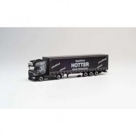Herpa 311717 Scania R `13 TL lowliner curtain semitrailer 'Hotter'