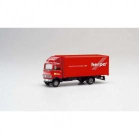 Herpa 311755 Mercedes-Benz 813 box truck 'Herpa Motorsport 1989 | Tauber Motorsport'