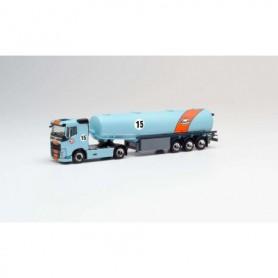 Herpa 311793 Volvo FH tank semitrailer 'Gulf Oil'
