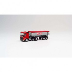 Herpa 311885 Volvo FH FD 6x4 thermo though Trailer 'Kutter'