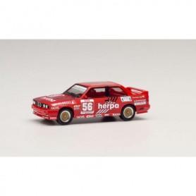 """Herpa 420525 BMW M3 Motor racing """"Herpa Motorsport, Gerhard Müller 1989'"""