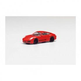 Herpa 420563 Porsche 911 Carrera 4S Coupé with black rims and Porsche lettering