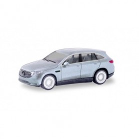 Herpa 430715-002 Mercedes-Benz EQC AMG, Hightech silver metallic