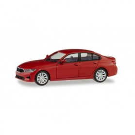 Herpa 430791 BMW 3er Limousine, melbourne red metallic