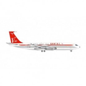 "Herpa Wings 534154 Flygplan Qantas Boeing 707-320C ""V-Jet""- Centenary Series 'City of Parramatta'"