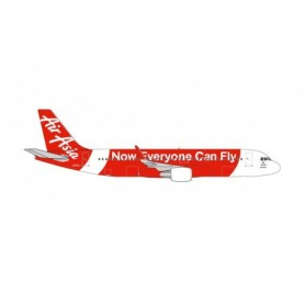 Herpa Wings 534215 Flygplan Air Asia Japan Airbus A320